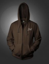 GH African expedition zip up hoody - Brown