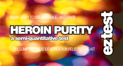 EZ Test Kits for Heroin Purity