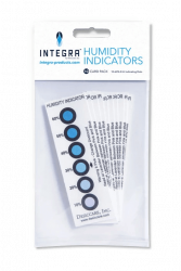 Integra Humidity Indicator Cards (10% - 60%) - 10 per Pack x 36